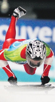 Jon Montgomery - 2010 Olympic Gold Skeleton